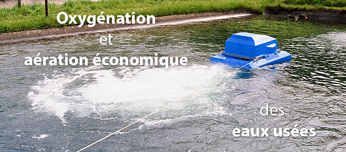 oxygenation d eau usees